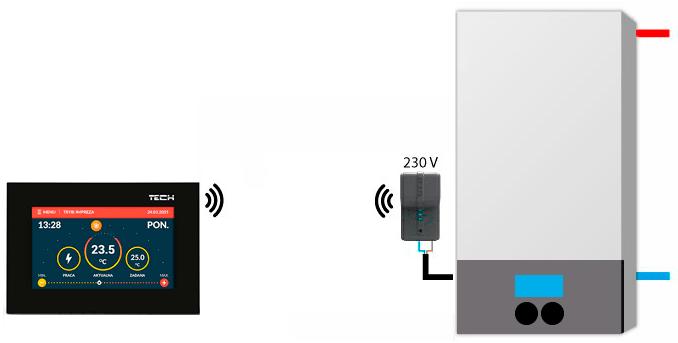 TECH ST-283 C black scheme