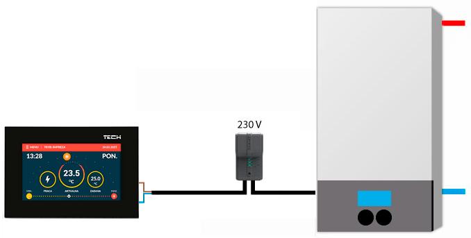 TECH ST-283 black scheme