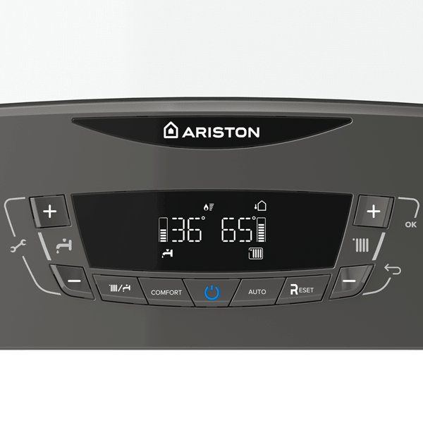Ariston CLAS X display